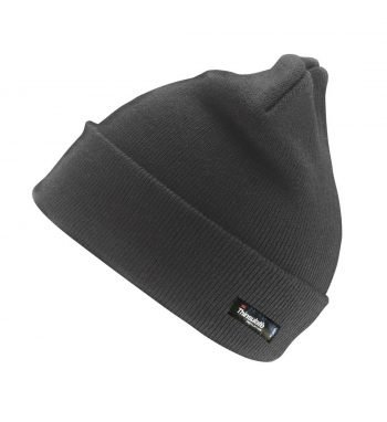 PPG Workwear Result Thinsulate Lined Woolly Ski Hat RC33 Charcoal Colour