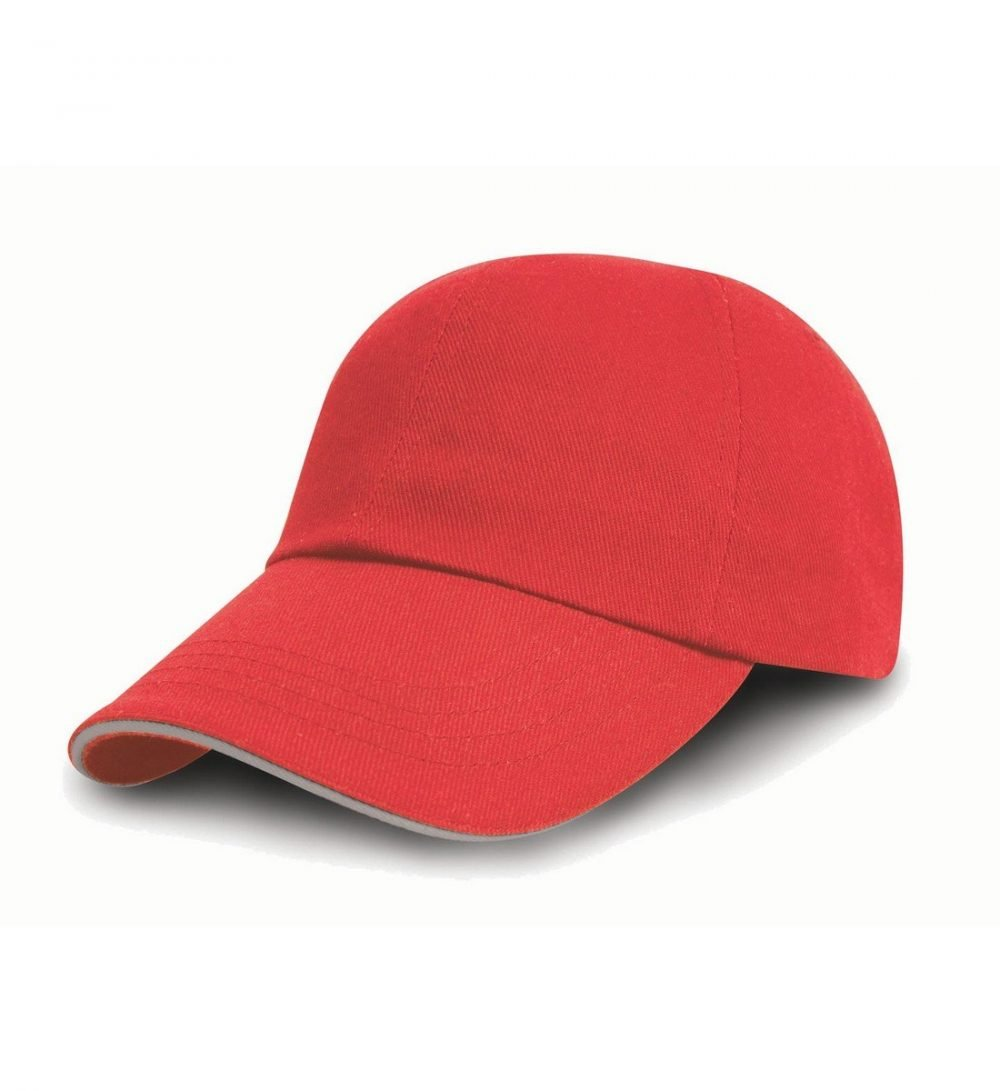 PPG Workwear Result Printers/Embroiderers Cap RC50 Red and Puty Colour