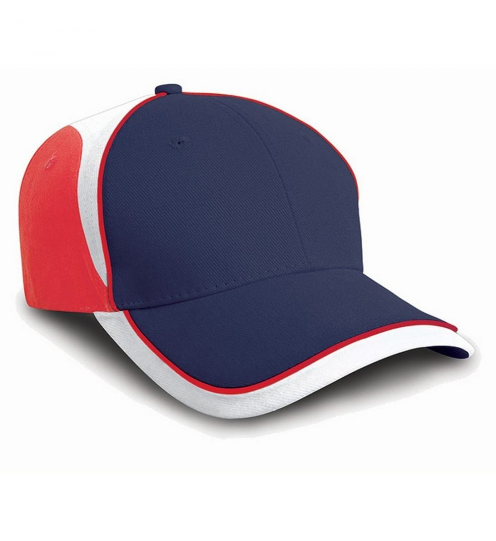 PPG Workwear Result National Cap RC62 Navy Blue White and Red Colour