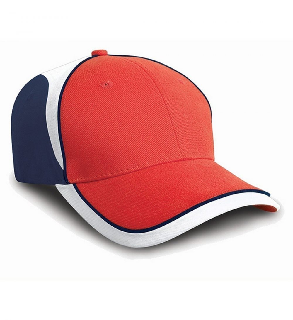 PPG Workwear Result National Cap RC62 Red White and Navy Blue Colour