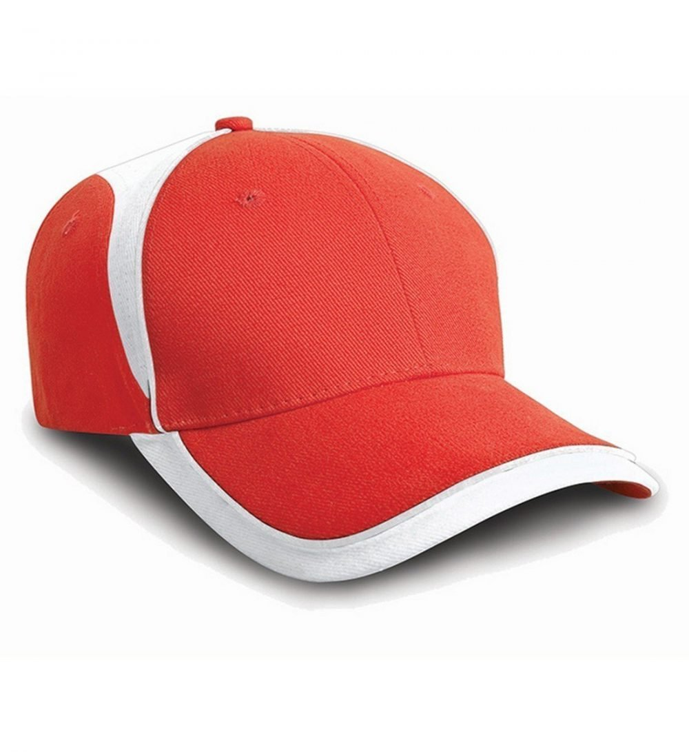 PPG Workwear Result National Cap RC62 Red and White Colour