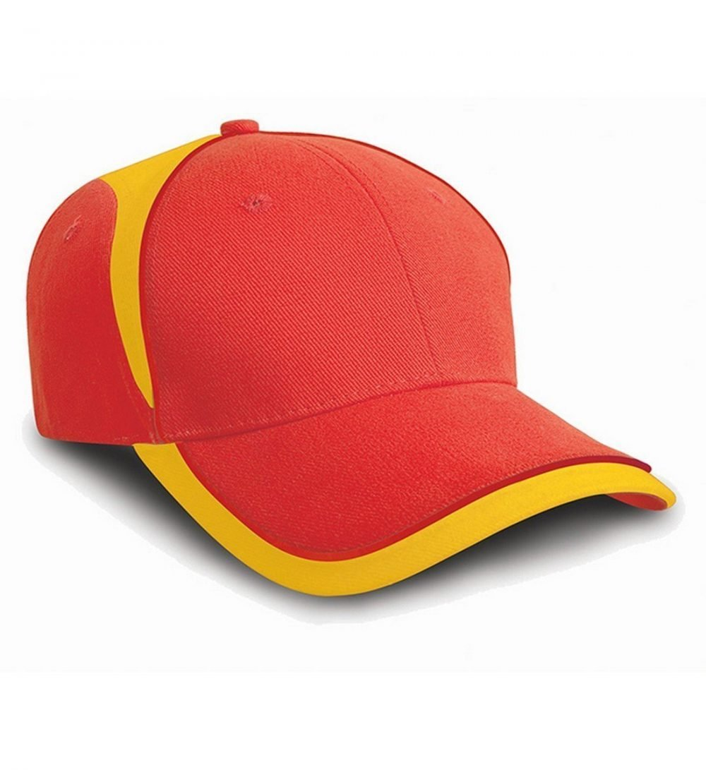 PPG Workwear Result National Cap RC62 Red and Yellow Colour