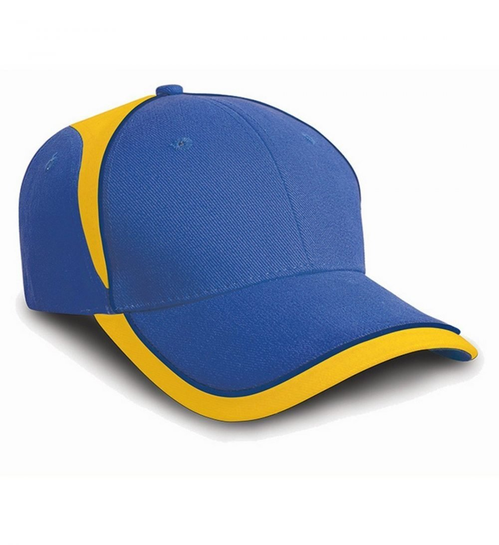 PPG Workwear Result National Cap RC62 Royal Blue and Yellow Colour