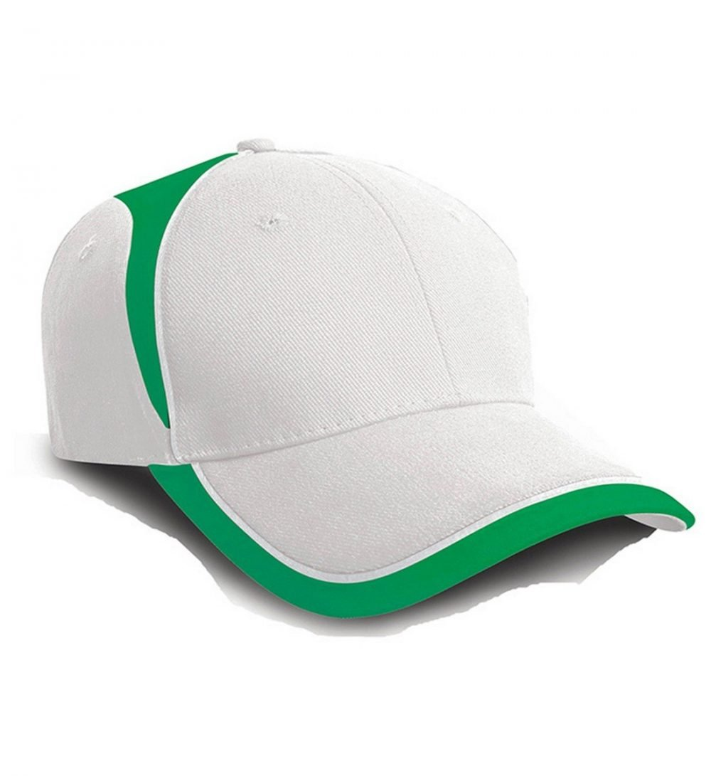 PPG Workwear Result National Cap RC62 White and Emerald Colour