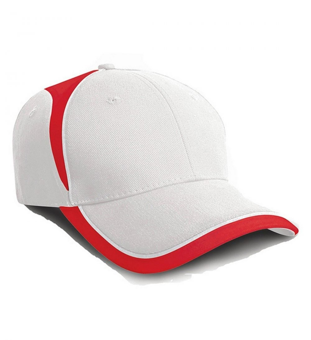 PPG Workwear Result National Cap RC62 White and Red Colour