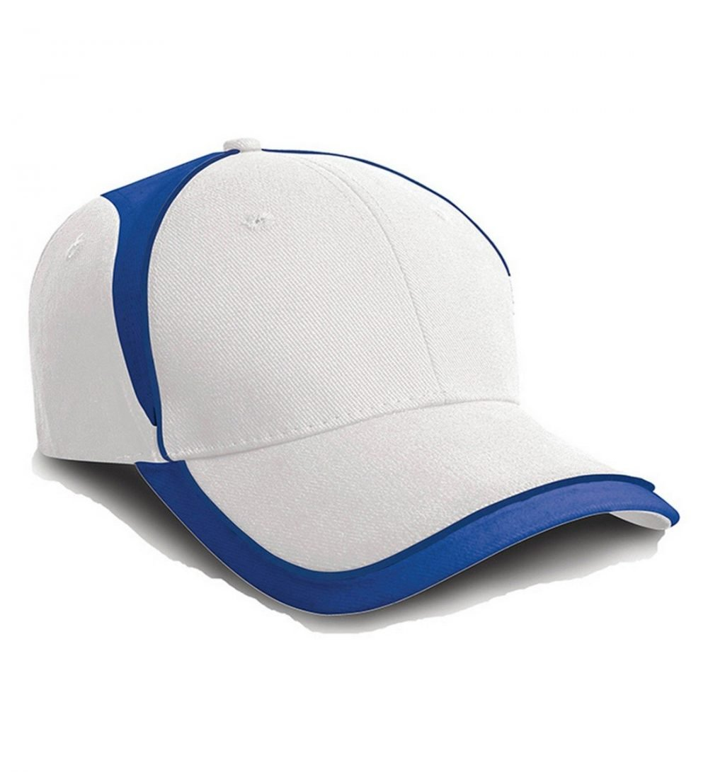 PPG Workwear Result National Cap RC62 White and Royal Blue Colour