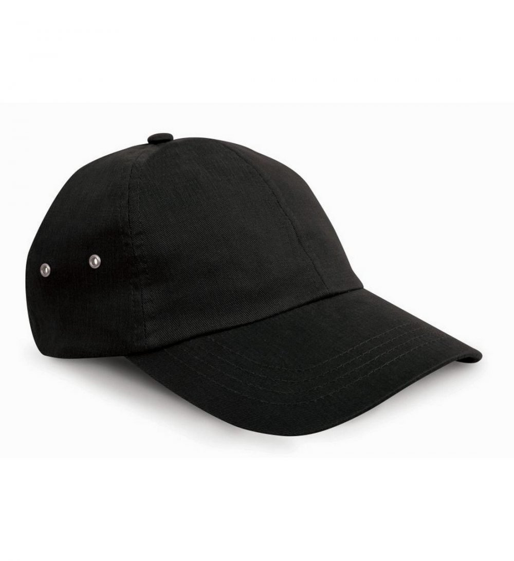 PPG Workwear Result Plush Finish Cap RC63 Black Colour