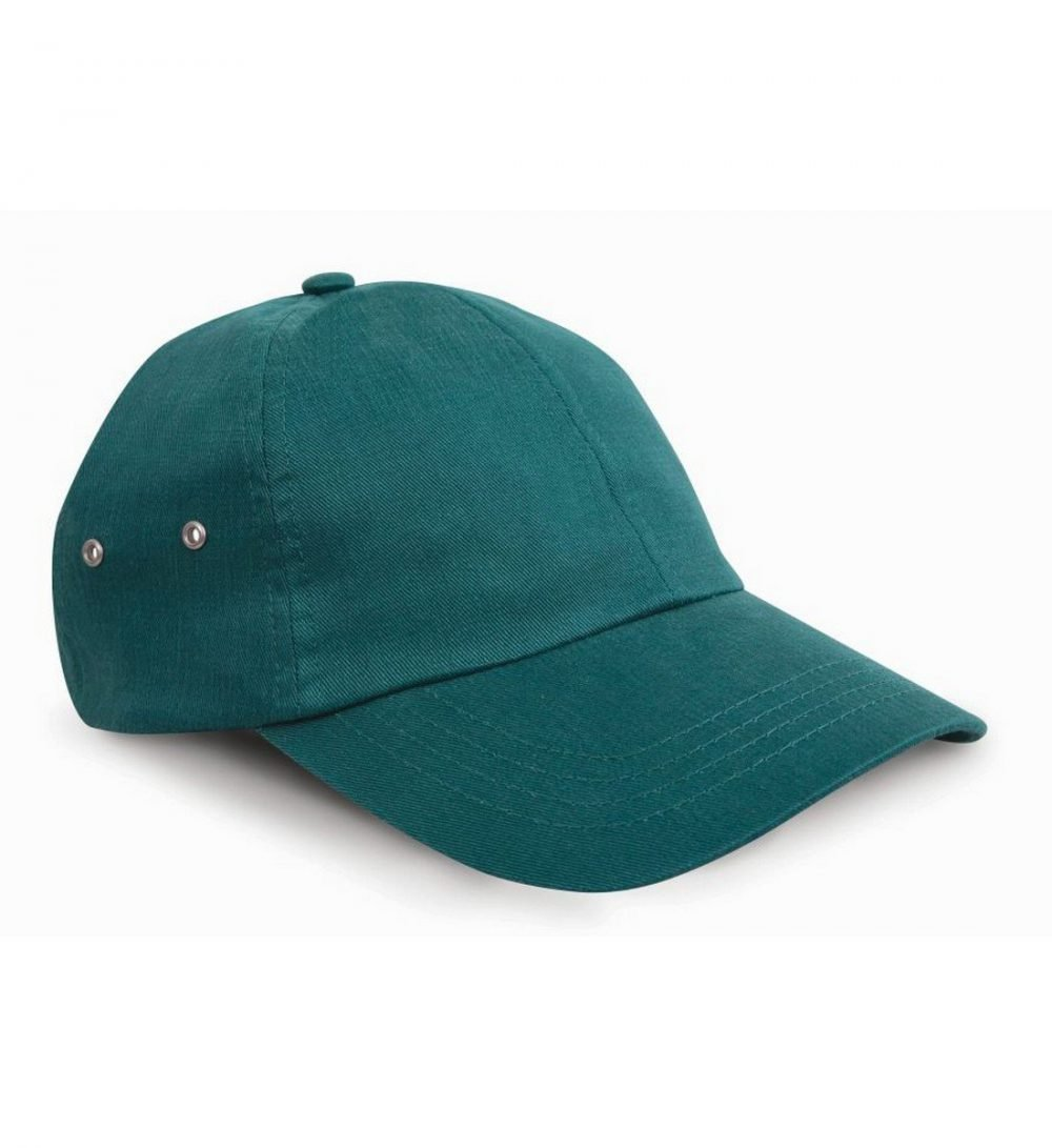 PPG Workwear Result Plush Finish Cap RC63 Bottle Green Colour