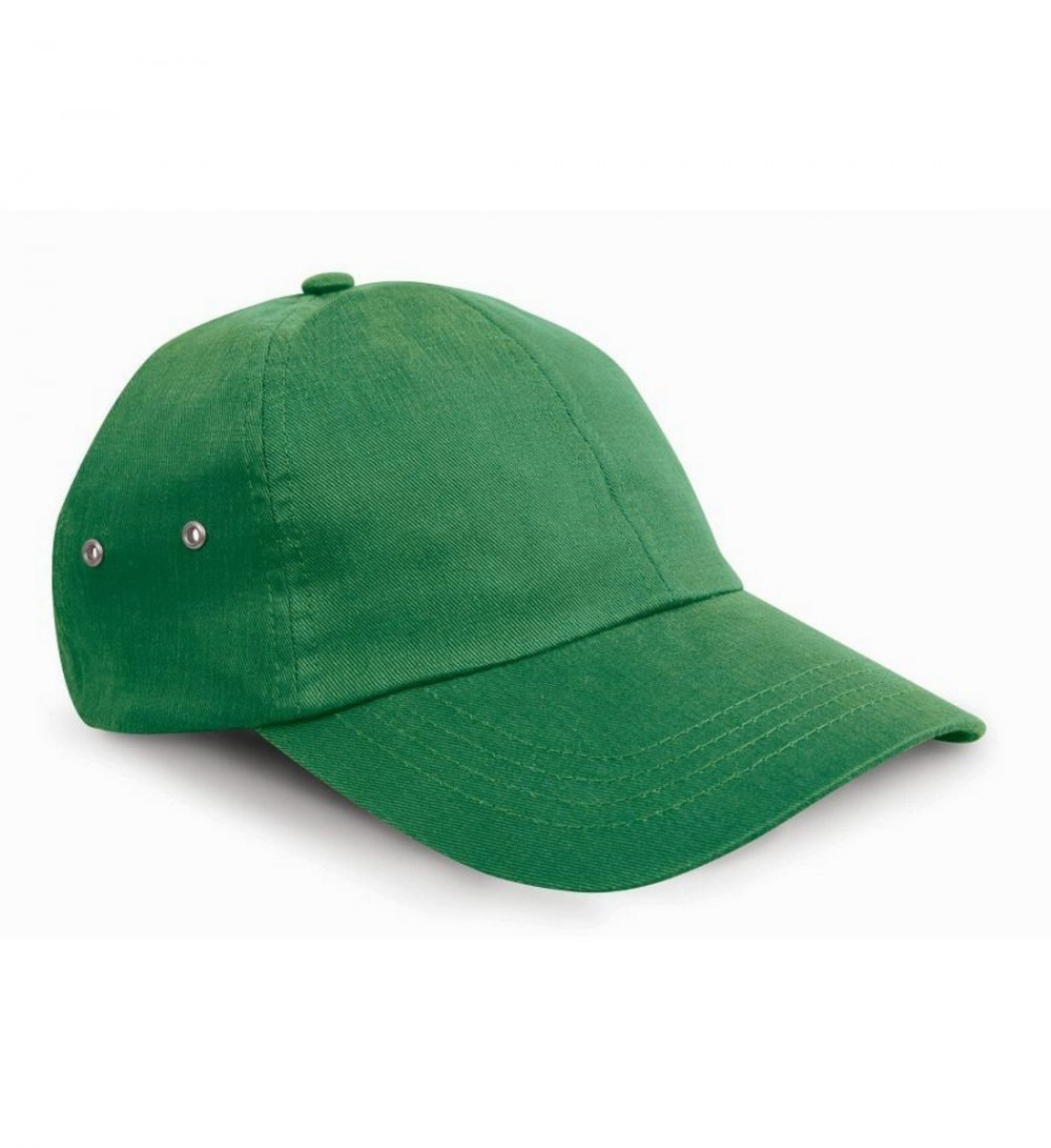 PPG Workwear Result Plush Finish Cap RC63 Kelly Green Colour
