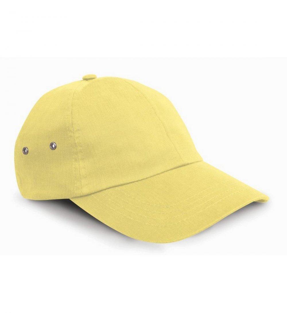PPG Workwear Result Plush Finish Cap RC63 Lemon Colour