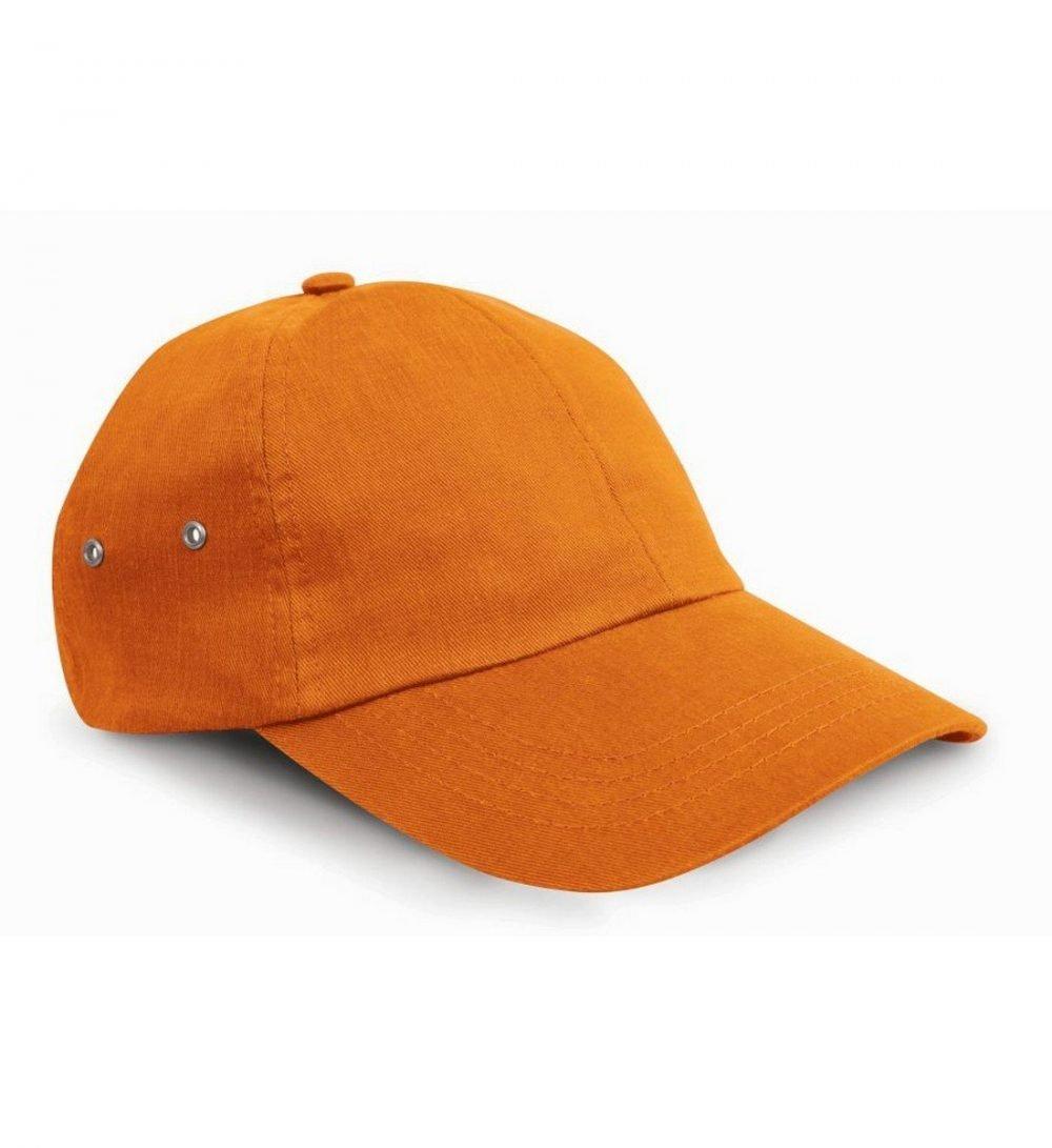 PPG Workwear Result Plush Finish Cap RC63 Orange Colour