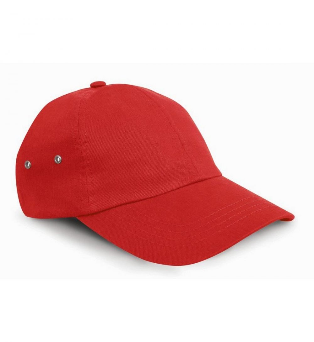 PPG Workwear Result Plush Finish Cap RC63 Red Colour