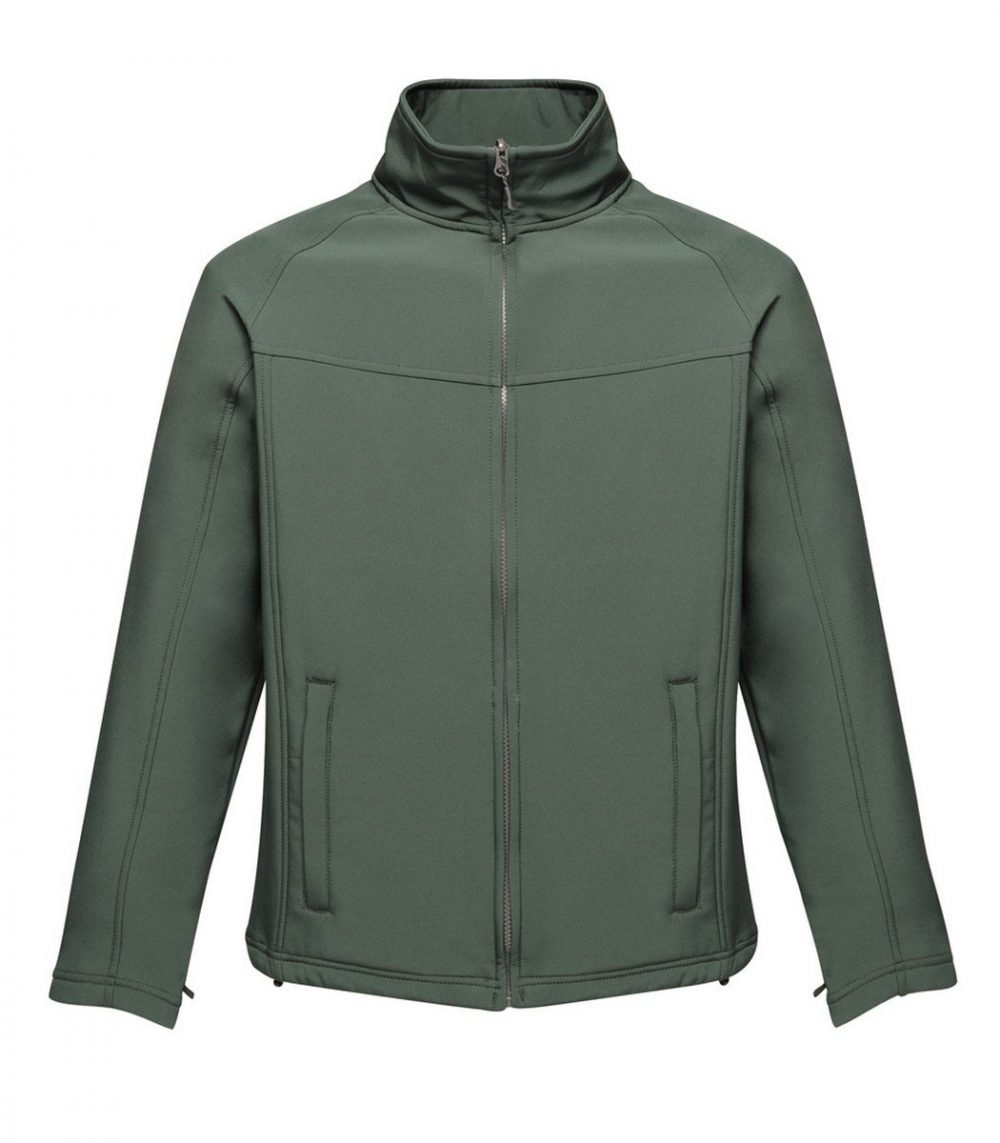 PPG Workwear Regatta Uproar Mens Softshell Jacket TRA642 Dark Spruce Colour