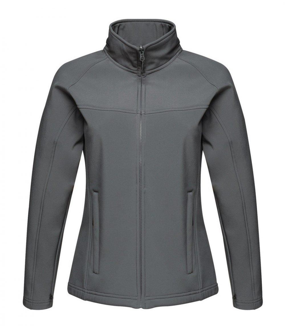 PPG Workwear Regatta Uproar Ladies Softshell Jacket TRA645 Seal Grey Colour