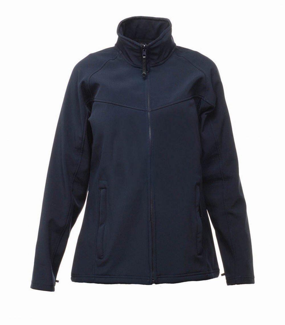 PPG Workwear Regatta Uproar Ladies Softshell Jacket TRA645 Navy Blue Colour
