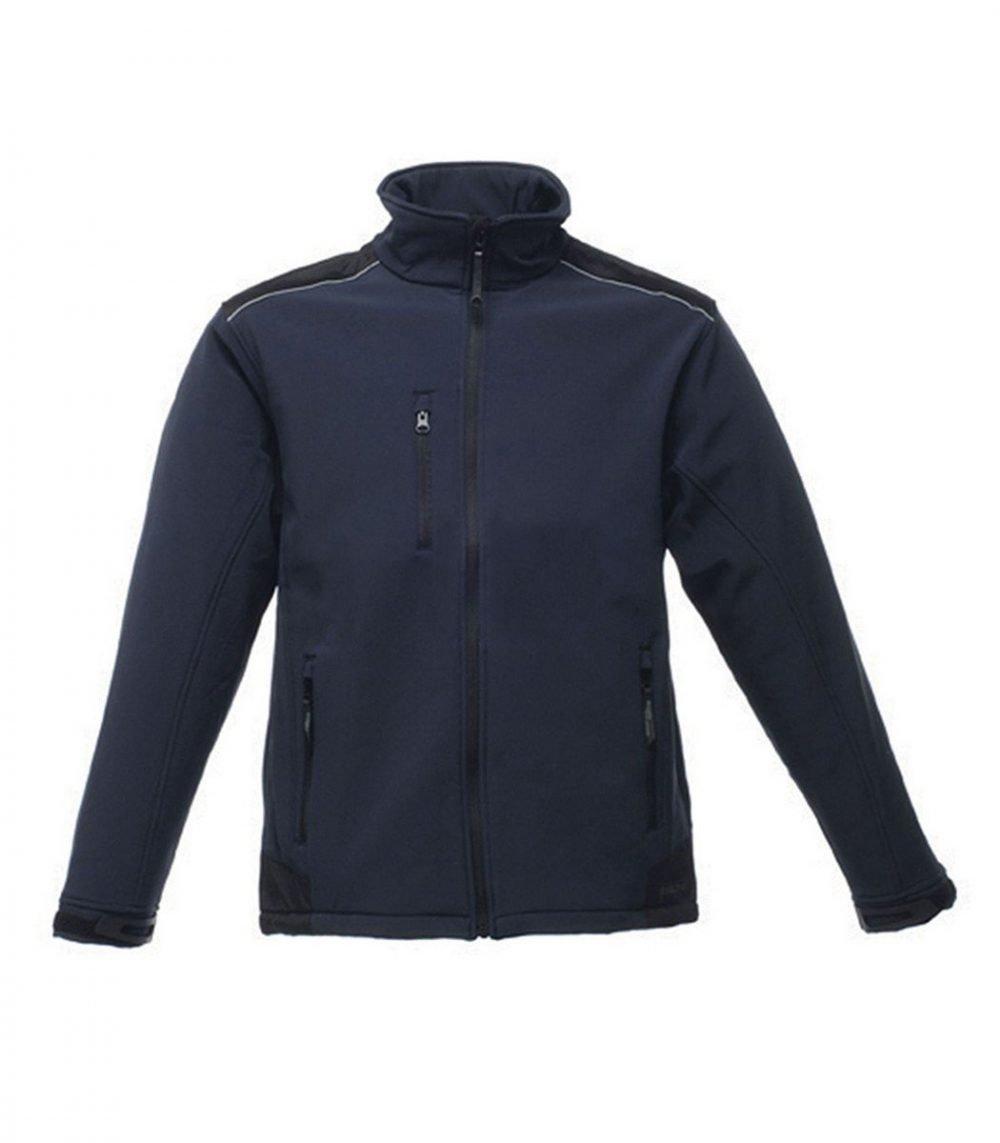 PPG Workwear Regatta Sandstorm Workwear Softshell Jacket TRA651 Navy Blue Colour