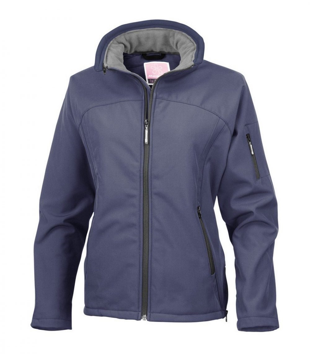 PPG Workwear Result La Femme Softshell Jacket R122F Navy Blue Colour