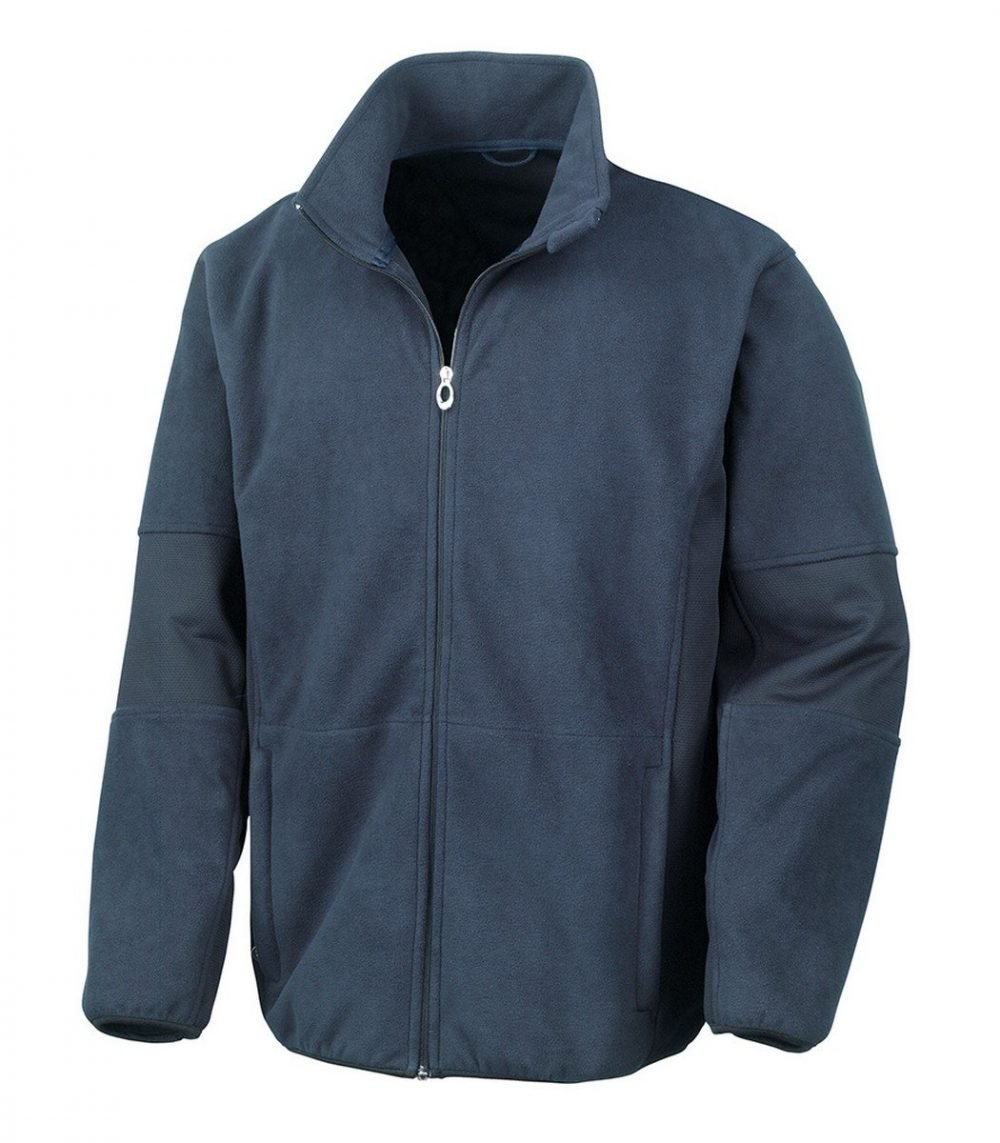 PPG Workwear Result Osaka TECH Performance Combined Pile Softshell R131M Navy Blue Colour