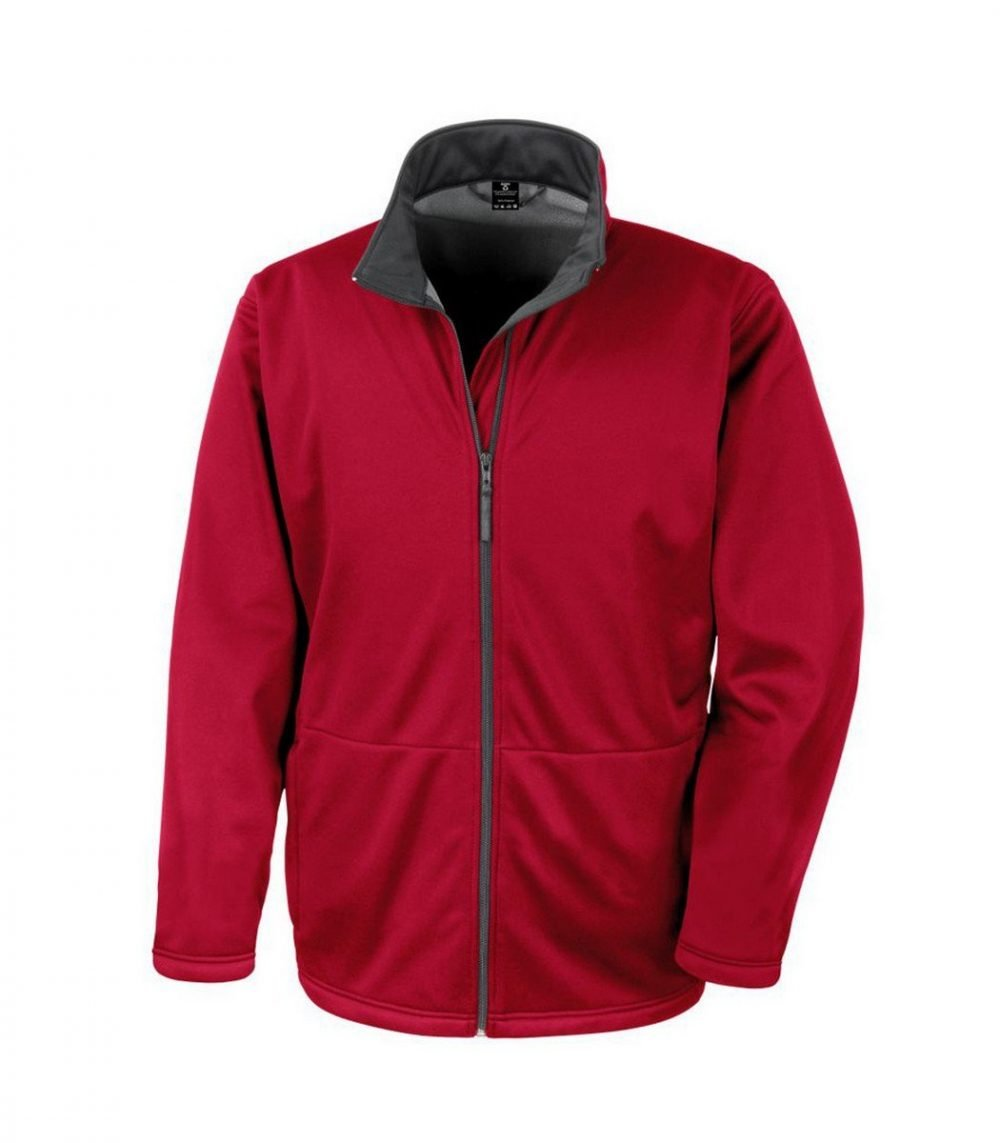 PPG Workwear Result Core Mens Soft Shell Jacket R209M Red Colour
