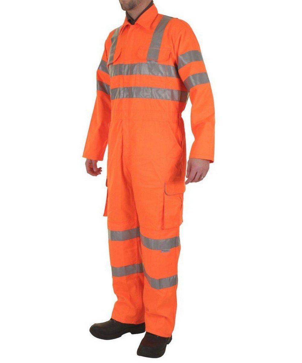PPG Workwear B-Seen Rail Spec Hi Vis Coverall RSC Orange Colour