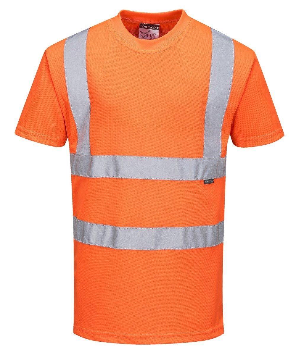 Portwest Hi Vis Orange Colour T-Shirt RT23