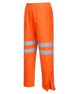 PPG Workwear Portwest Hi-Vis Traffic Trouser RT31 Orange Colour