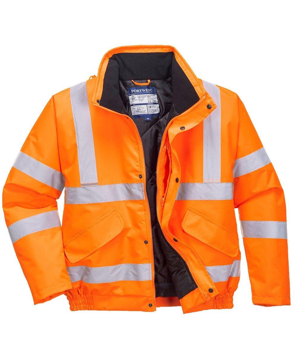 PPG Workwear Portwest Hi Vis Bomber Jacket RT32