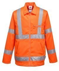 Hi Vis Poly Cotton Jackets