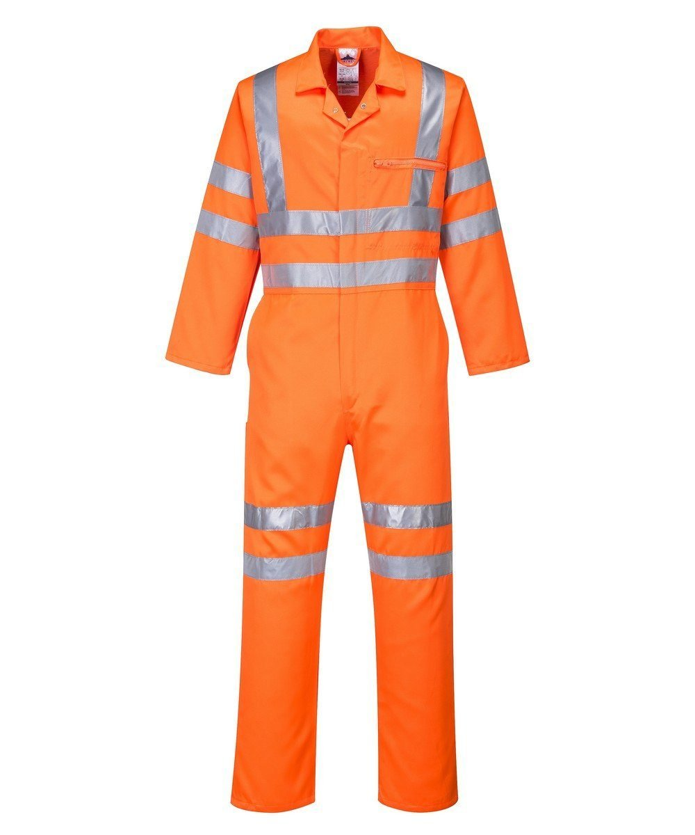 PPG Workwear Portwest Hi Vis Coverall RT42 Orange Colour
