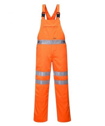 Portwest Hi Vis Bib/Brace RT43 Orange Colour