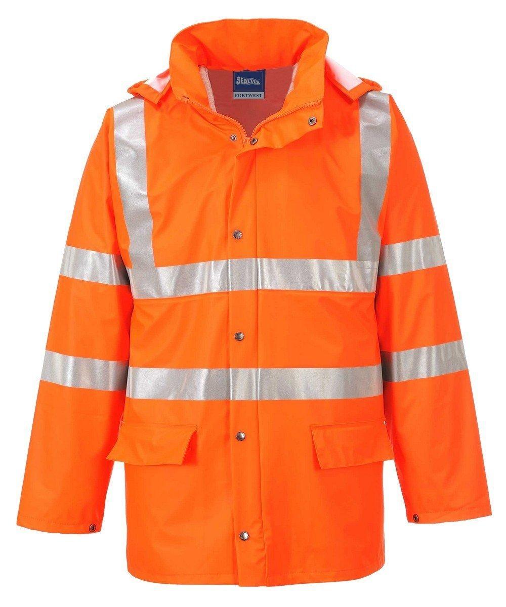 PPG Workwear Portwest Sealtex Ultra Unlined Hi Vis Jacket RT50 Orange Colour