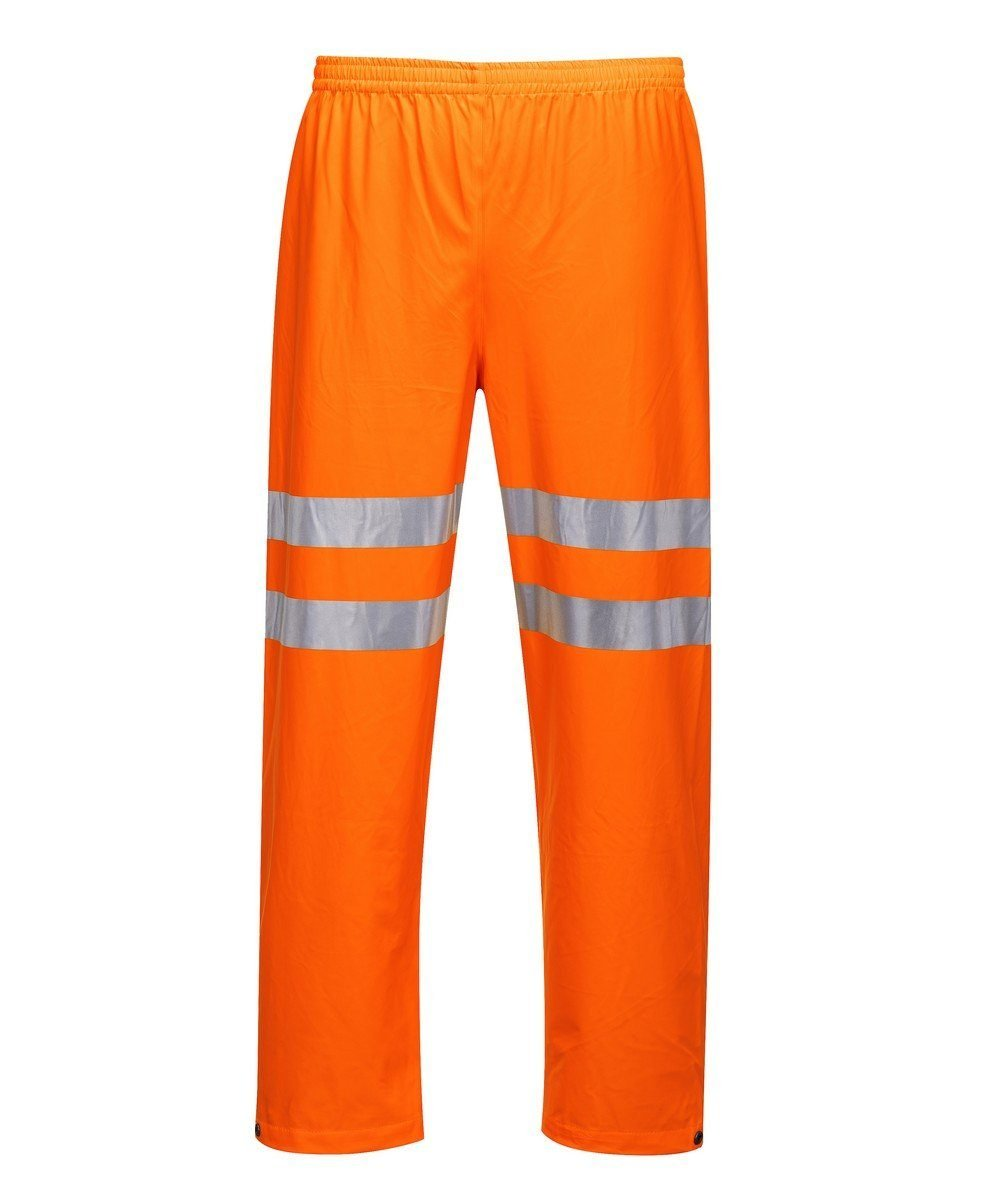 Portwest Sealtex Ultra Hi Vis Waterproof Trousers RT51 Orange Colour