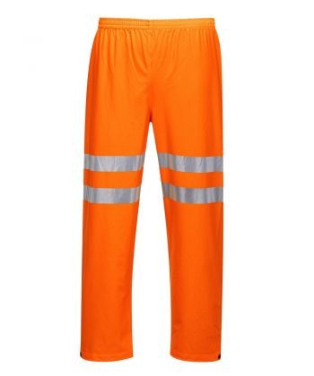 Portwest Sealtex Ultra Hi Vis Waterproof Trousers RT51 Orange Colour