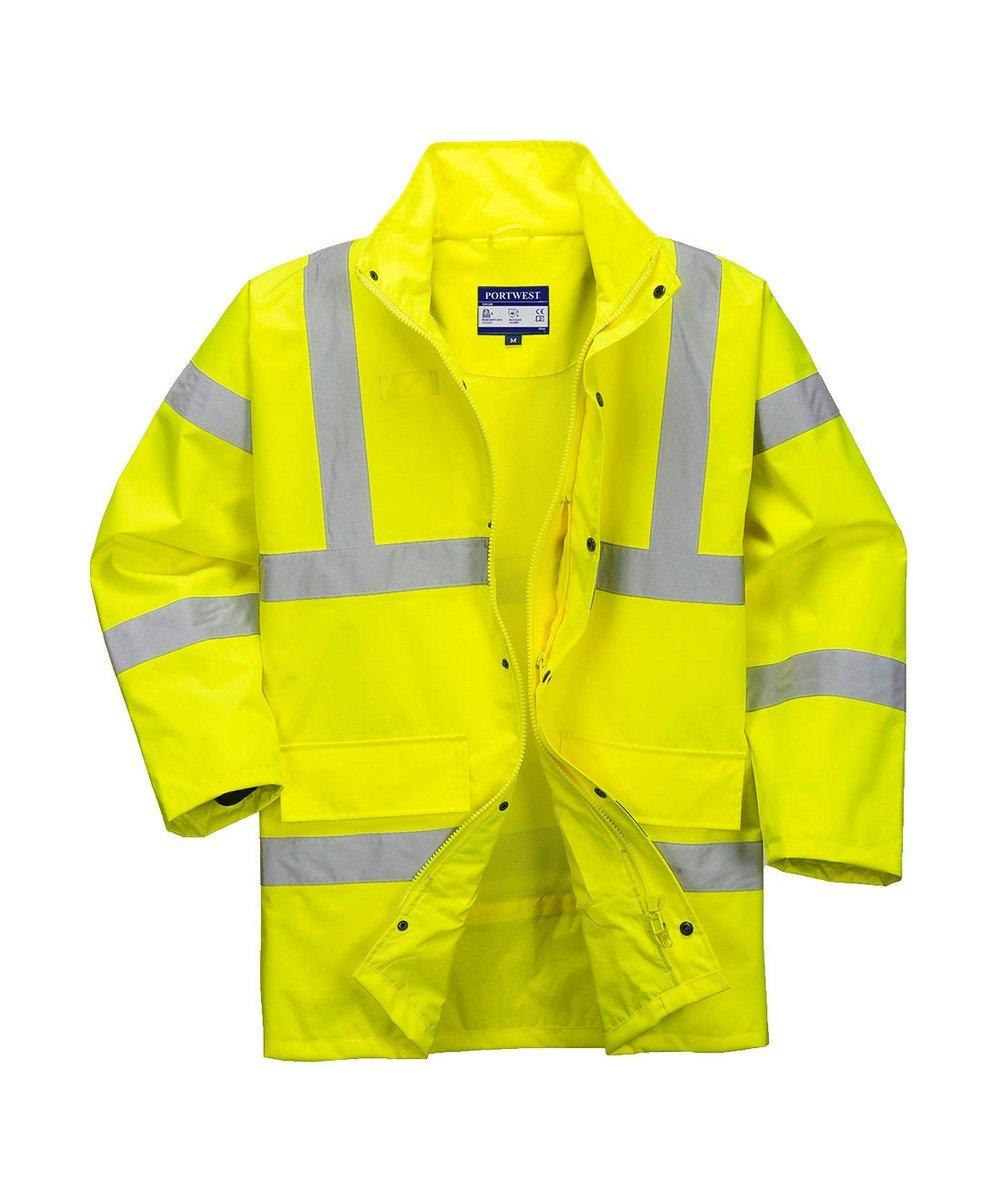 Portwest Hi Vis Breathable Jacket RT60 Yellow Colour