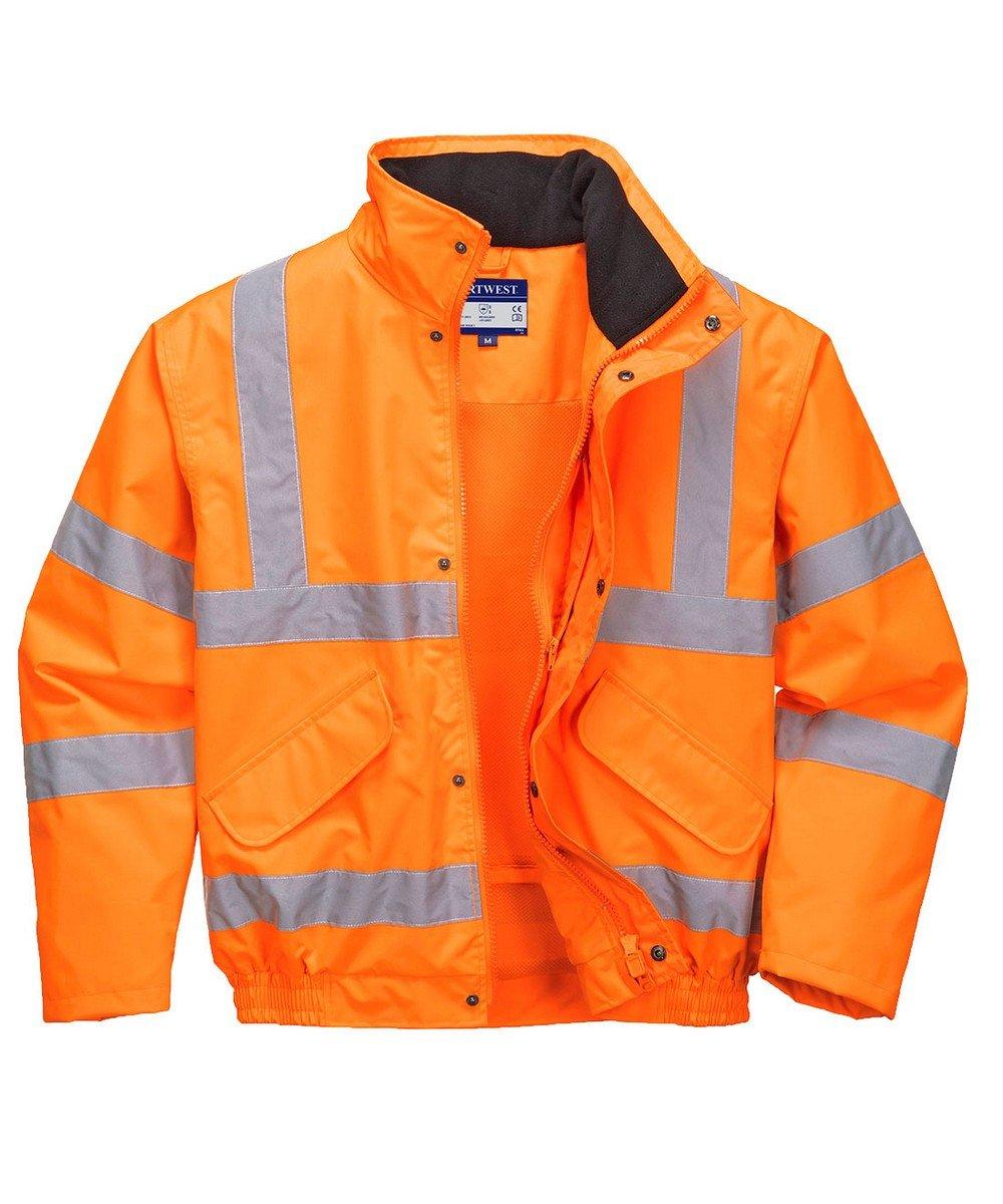 PPG Workwear Portwest Hi Vis Breathable Bomber Jacket RT62