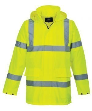 PPG Workwear Portwest Hi Vis Lite Traffic Jacket S160 Yellow Colour
