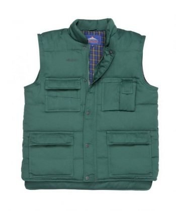 PPG Workwear Portwest Shetland Bodywarmer S414 Green Colour