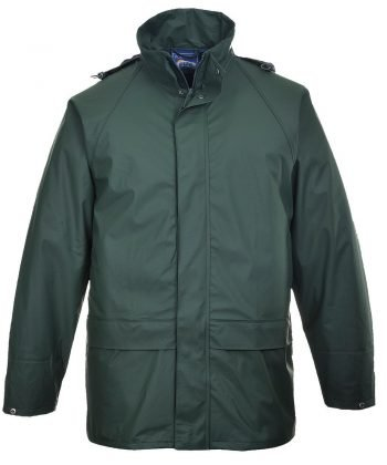 PPG Workwear Portwest Sealtex Classic Waterproof Jacket S450 Green Colour