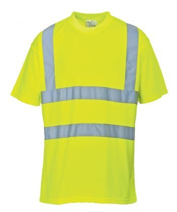 PPG Workwear Portwest Hi Vis Yellow Colour T-Shirt S478