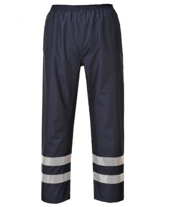 Portwest Iona Lite Trousers S481 Navy Blue Colour with Refective Bands