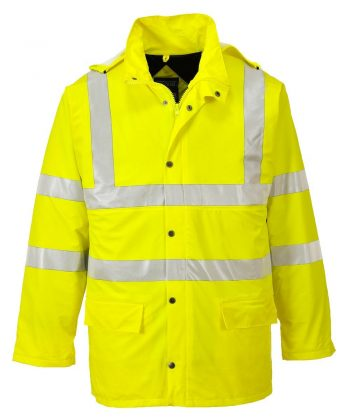 PPG Workwear Portwest Sealtex Ultra Lined Hi Vis Jacket S490 Yellow Colour