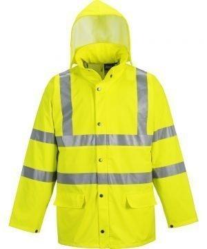 Portwest Sealtex Ultra Unlined Hi Vis Jacket S491 Yellow Colour
