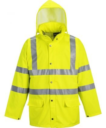 Portwest Sealtex Ultra Unlined Hi Vis Jacket S491 Yellow Colour