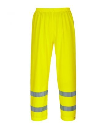PPG Workwear Portwest Sealtex Ultra Hi Vis Waterproof Trousers Yellow Colour S493