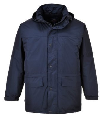 PPG Workwear Portwest Oban Fleece Lined Jacket S523 Navy Blue Colour