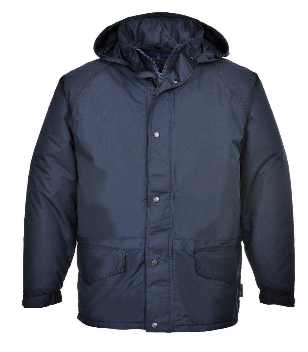 PPG Workwear Portwest Arbroath Breathable Fleece Lined Jacket S530 Navy Blue Colour