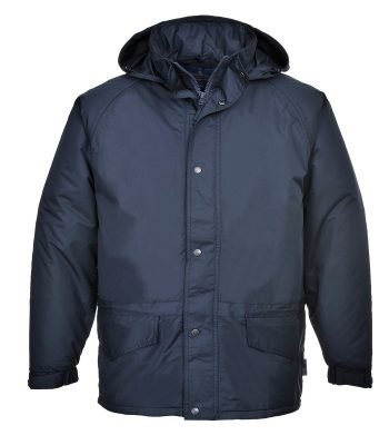 PPG Workwear Portwest Arbroath Breathable Fleece Lined Jacket S530 Navy Blue Colour