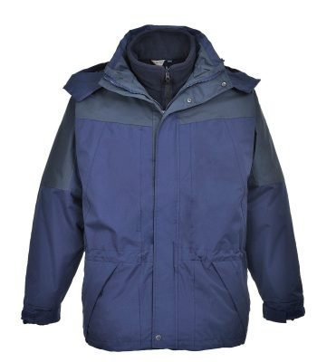 PPG Workwear Portwest Aviemore 3 in 1 Jacket S570 Navy Blue Colour