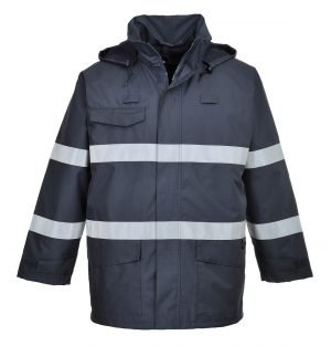 Portwest Bizflame Rain FR Multi Protection Jacket S770 Navy Blue Colour