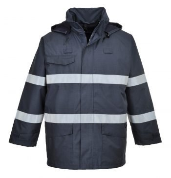 Portwest Bizflame Rain FR Multi Protection Jacket S770 Navy Blue Colour
